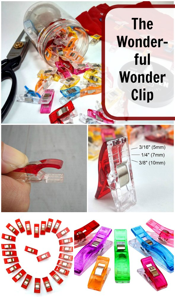 Where would we be without the Wonder Clip?  Perefct for sewers and quilters, this handy tool has modernised the straight pin.  A look at the features....