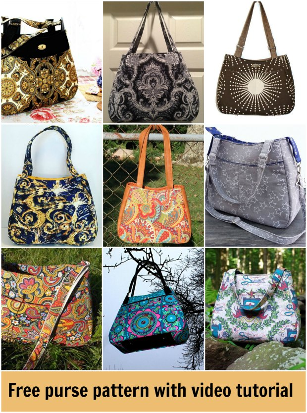 Swoon Ethel free pattern and video - Sew Modern Bags