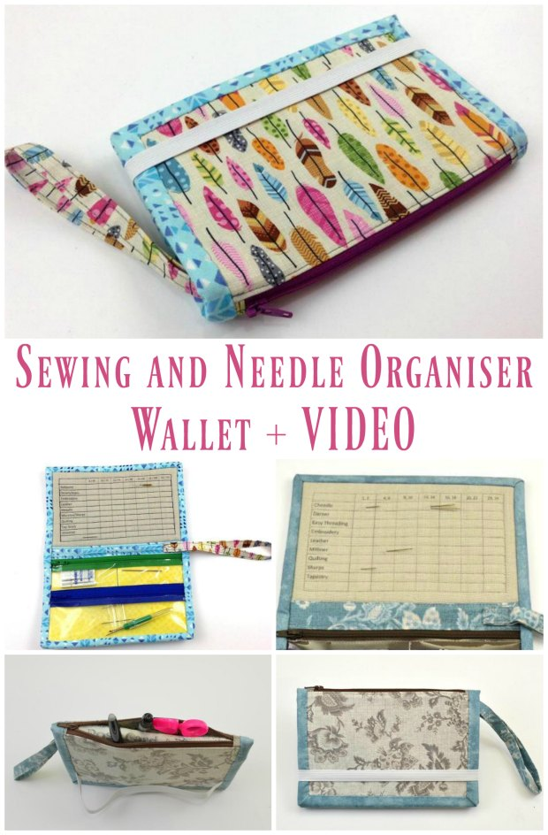 How I keep all my machine needles organised, and you can too.  Sewing pattern.