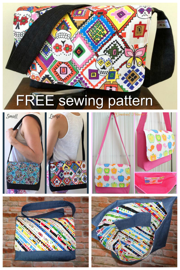 Good to go messenger bag pattern - free - Sew Modern Bags