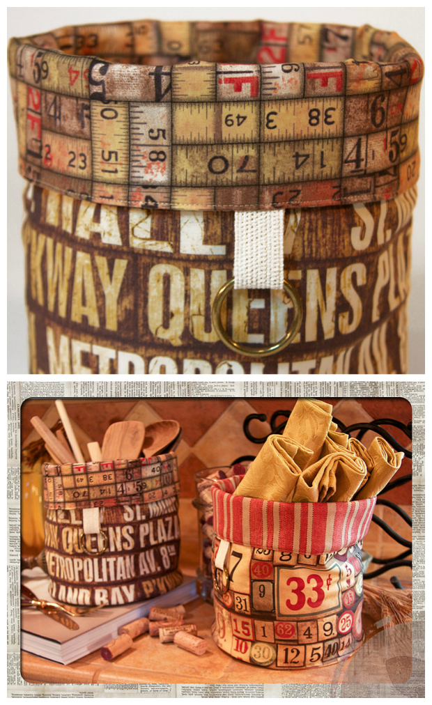 Why not make one or many of these beautifully created Round Lined Baskets that can be used in any room around the house to store whatever you like. Or you can make them, fill them up with goodies, and give them to your friends and family as gifts. The FREE instructions and pattern are included.
