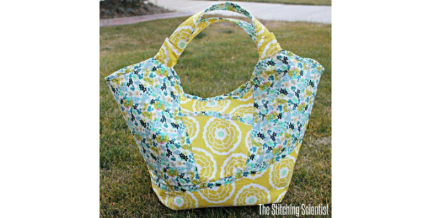 Carnaby Carry All Bag Free Sewing Pattern Sew Modern Bags