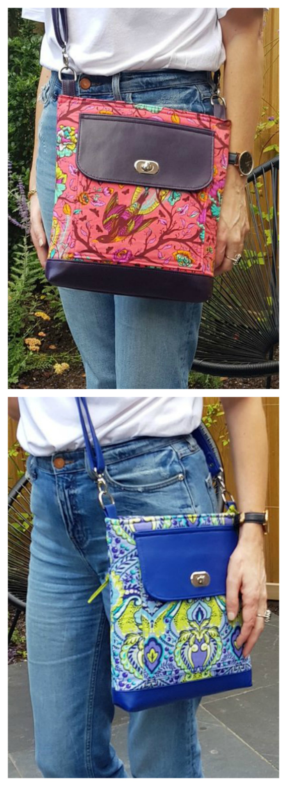 Here's a really fantastic Crossbody Bag called The Turnaround Bag, which is a very unique bag as you can wear it in different ways on different days. The Turnaround Bag has two fronts, so you can wear it one way or the other, meaning you have two great looks for the price of one.