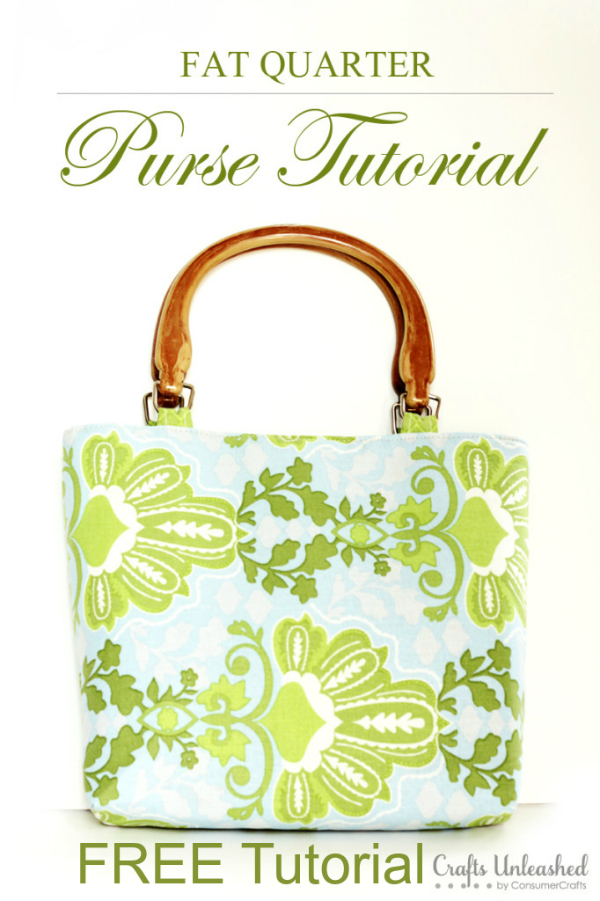 It's always great to work with fat quarters as you usually have plenty of them in your stash. Here's a great FREE tutorial to make a Fat Quarter Purse. For a beginner sewer, this tutorial is just what you have been looking for.