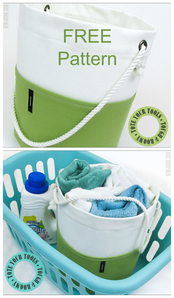 The Round Heavy Duty Bucket Tote is a generous bucket tote that you can keep all your tools of the trade in one place. It's super handy to take wherever you need to go: room to room or out and about. Fill it with DIY tools for those small repair jobs around the house. Keep it in your sewing room to collect items for your next project. Or, use one in the kitchen, bath or laundry to hold towels and more.