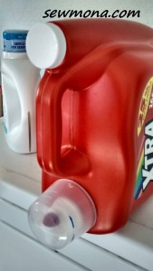 Refillable laundry soap container - best thing ever