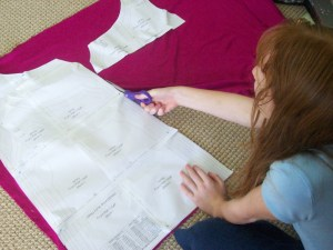Cutting Patterns Out