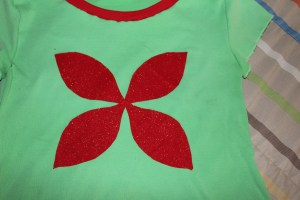 Christmas Poinsettia Bottom Layer