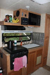 Shamrock Kitchen with Sink Cover