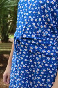 Bitty Brunch Blouse by Patterns for Pirates Waist Ties