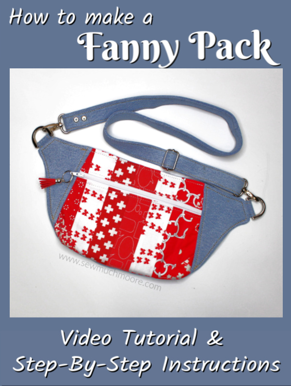 Free Fanny Pack Pattern : fanny, pattern, Dayna, Archives, Moore