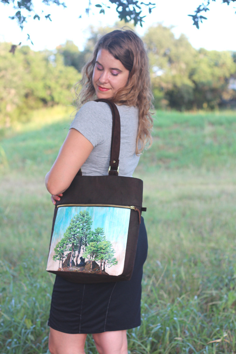 Super Online Sewing Match Round THREE! The Caravan Tote
