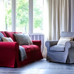 Ikea Red Sofa Covers 84 Bed Brighten Up Your Furniture With Eco Friendly Coverings
