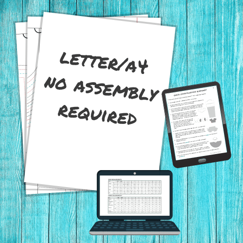 Letter/A4 No Assembly Required