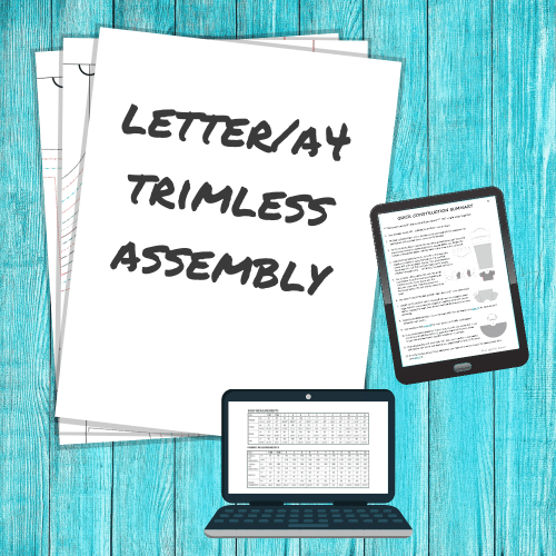Letter/A4 Trimless Assembly