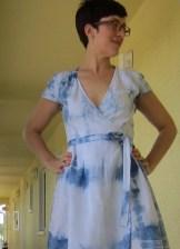 Indigo dyeing Sew Pomona
