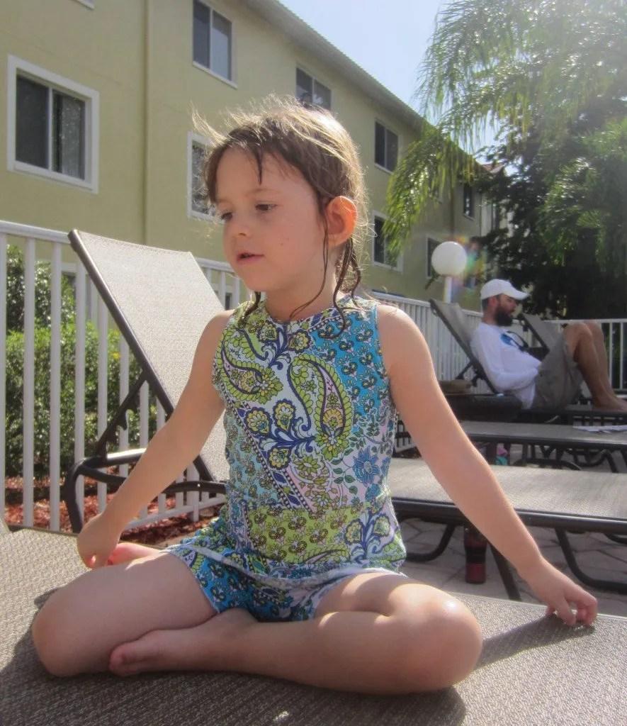 Flora Girl's Swimsuit