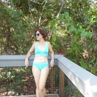 Two Tone Ocean Blue Bikini