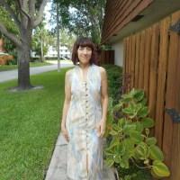 Vintage Style 2618 Ikat Dress