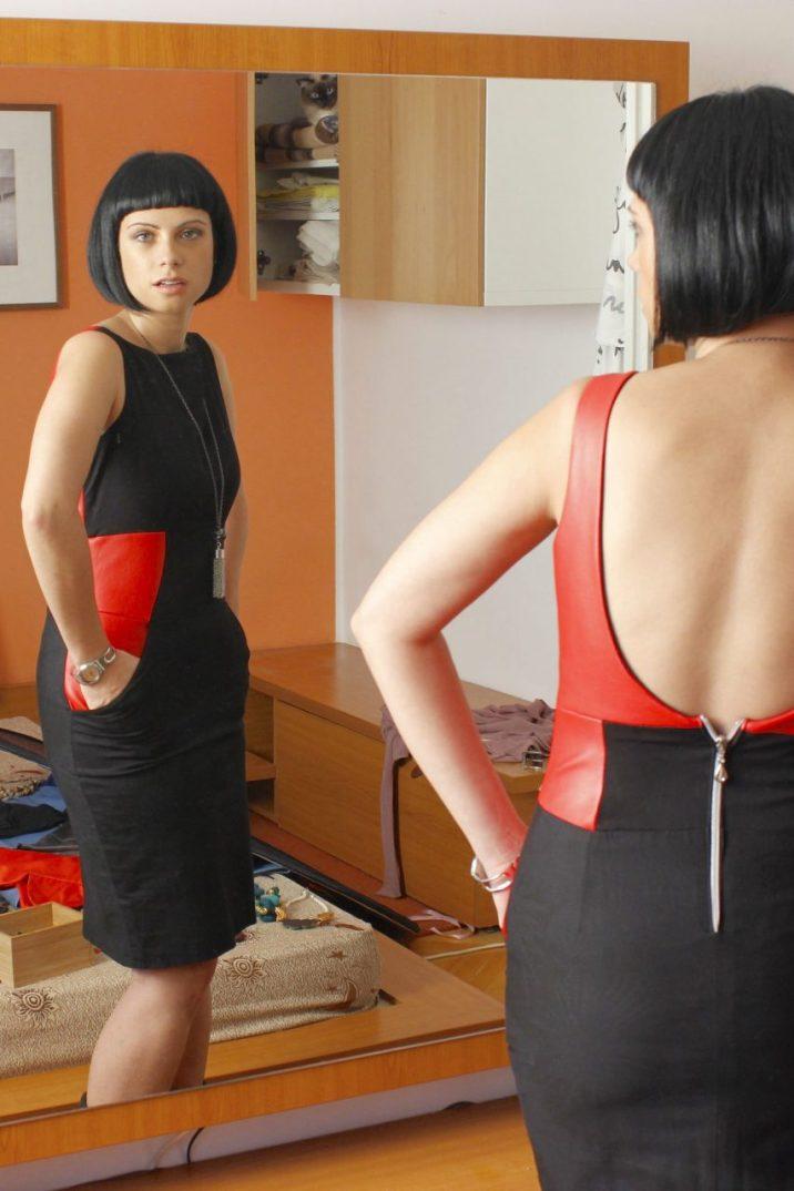 Vogue 1102 hack cocktail dress
