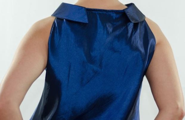 Blue Top Back