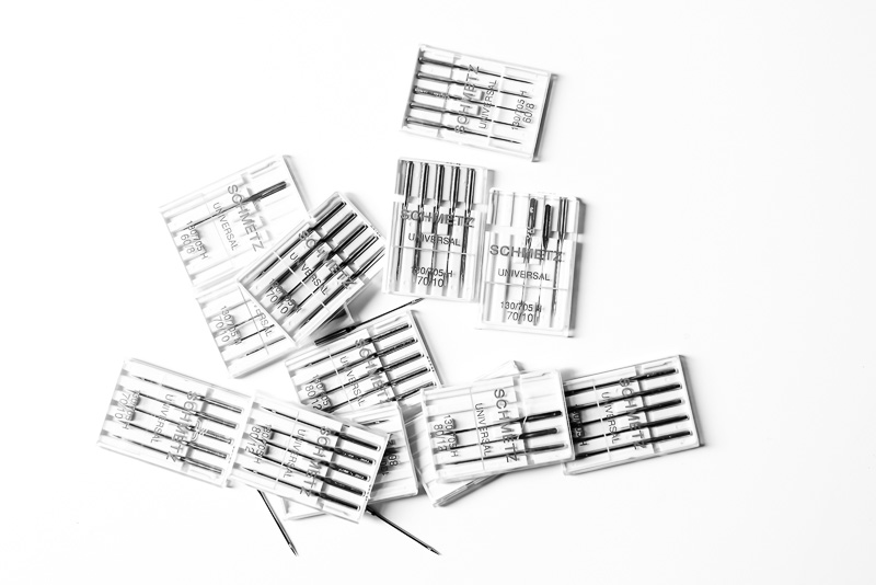 How to organise your sewing machine needles