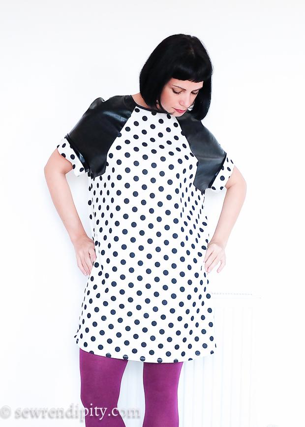 Raglan Tunic Dress 10/2014#127A
