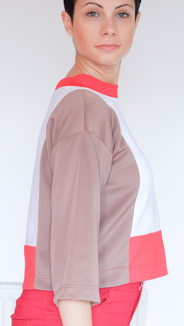 Colour Block Boxy top Burda 08-2017-112-14