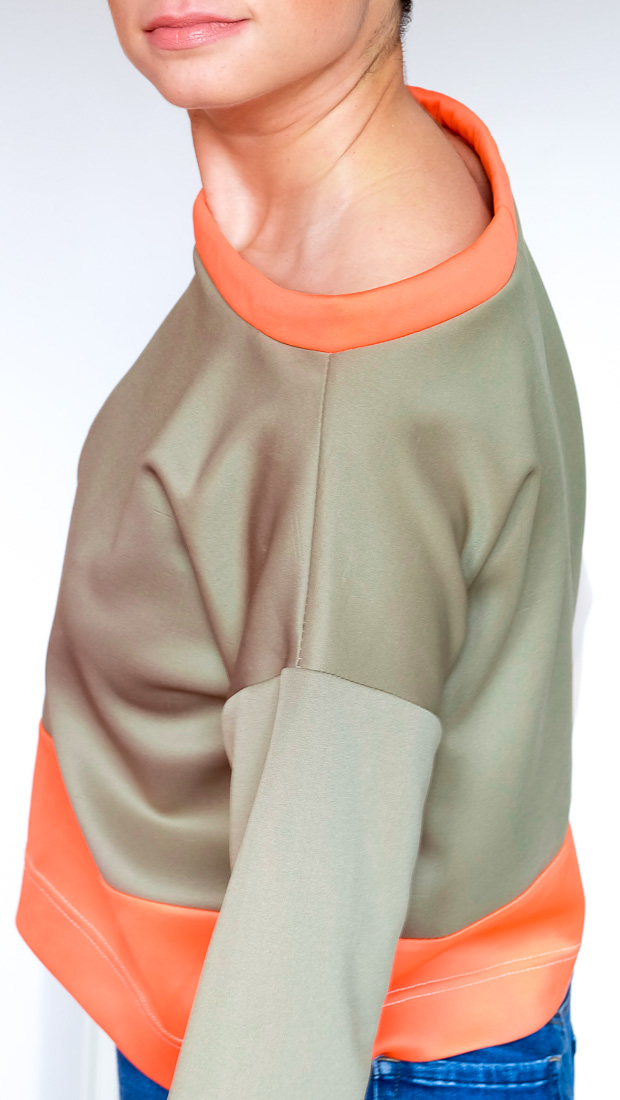 Colour Block Boxy top Burda 08-2017-112-6