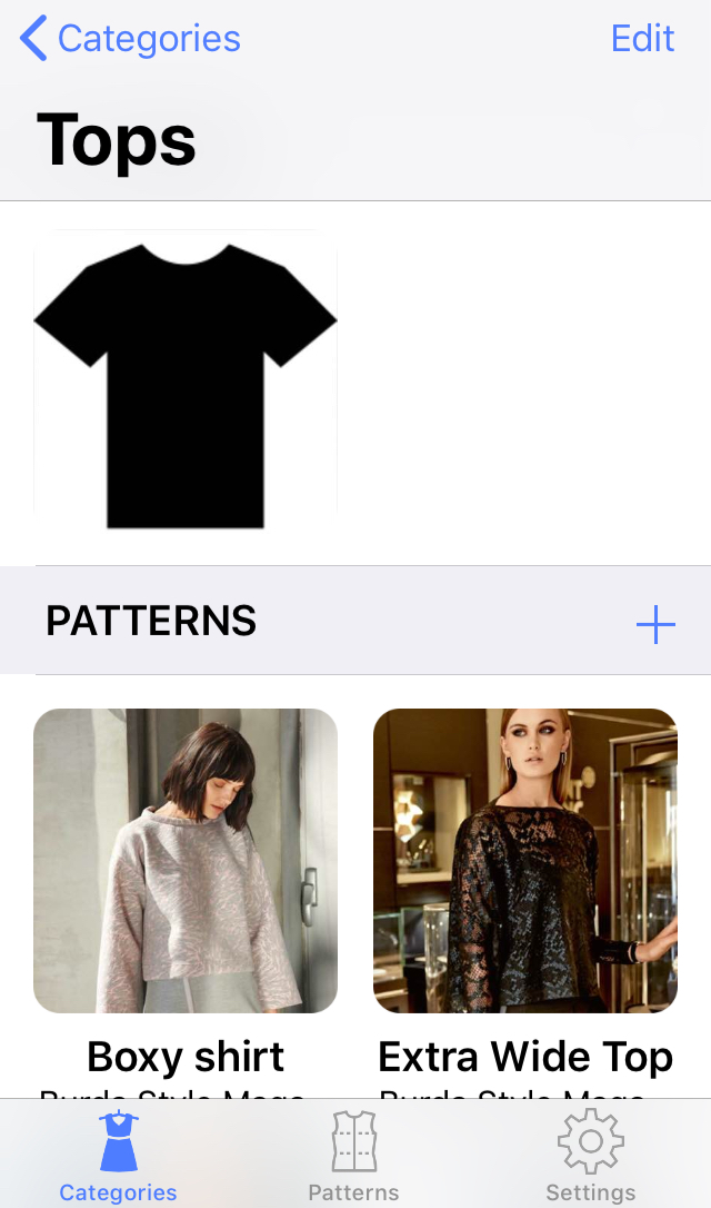 Sewign Pattern App - Category with Patterns.jpg