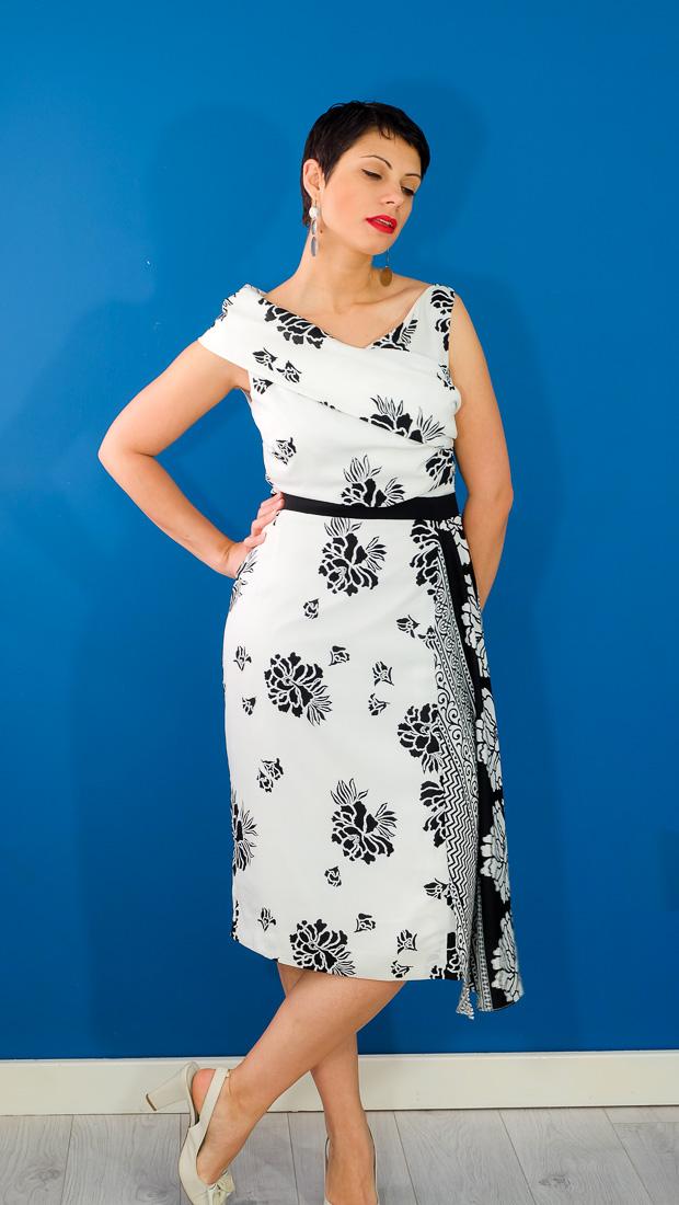Burda Style Vintage Sophia Dress-12