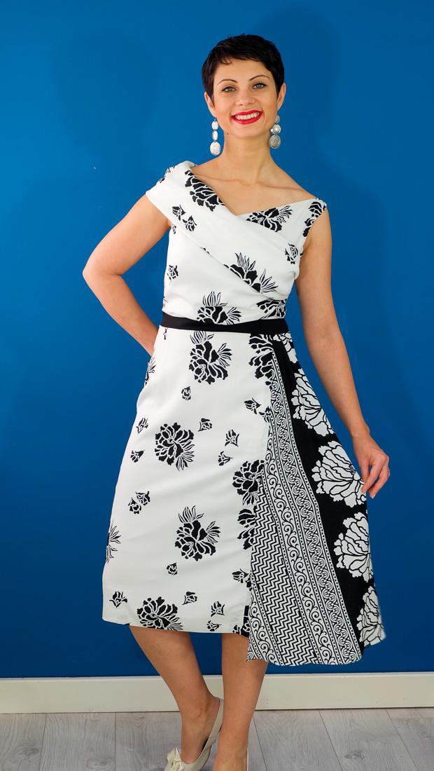 Burda Style Vintage Sophia Dress