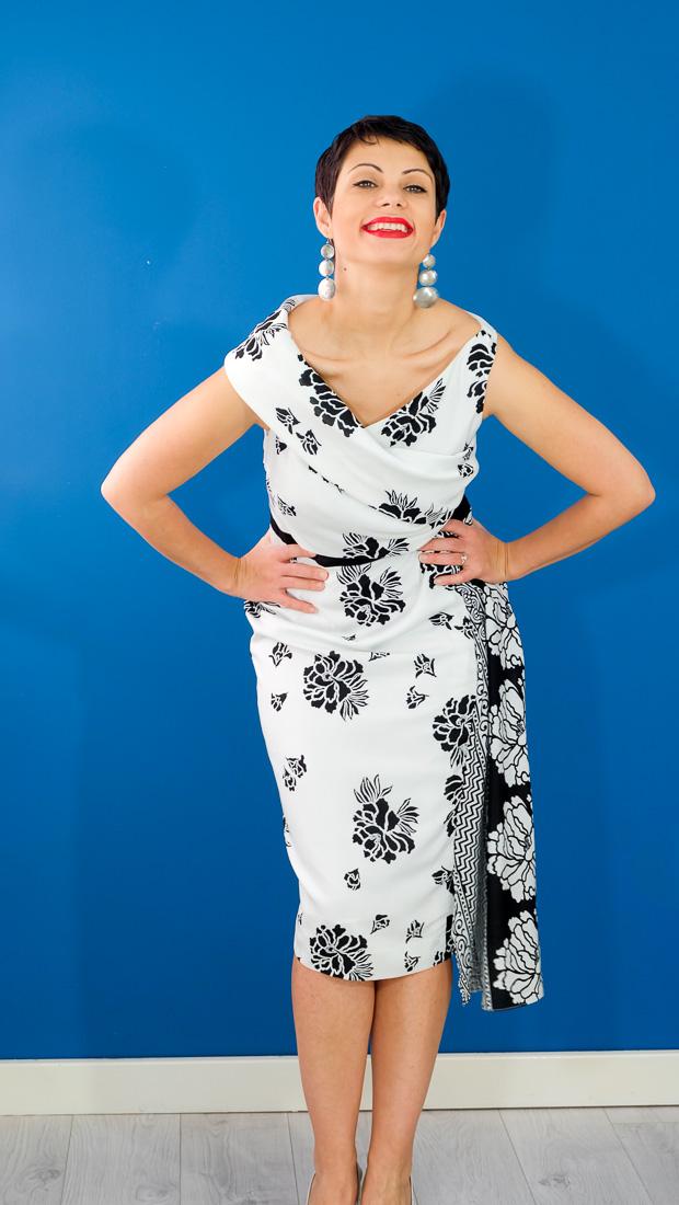 Burda Style Vintage Sophia Dress-19
