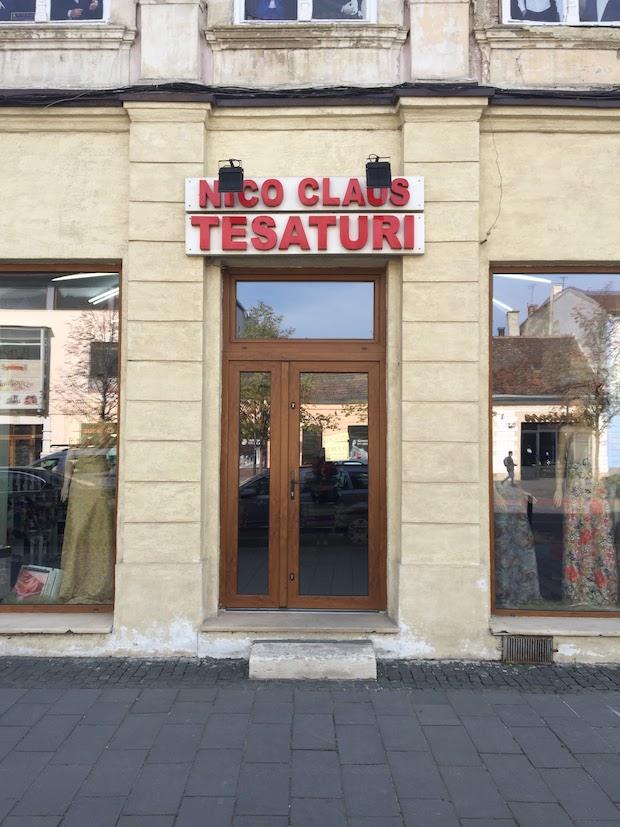 Fabric Shopping in Cluj - Nico Claus