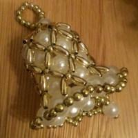 Blogger Network #19 - Beaded Christmas Bells