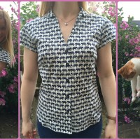 Blogger Network #25 - New Look 6407 Elephant Shirt