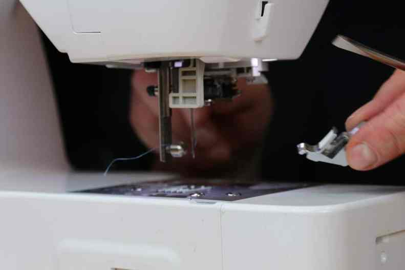 Sticken mit der Nähmaschine