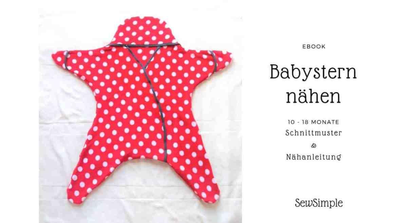 Babystern nähen