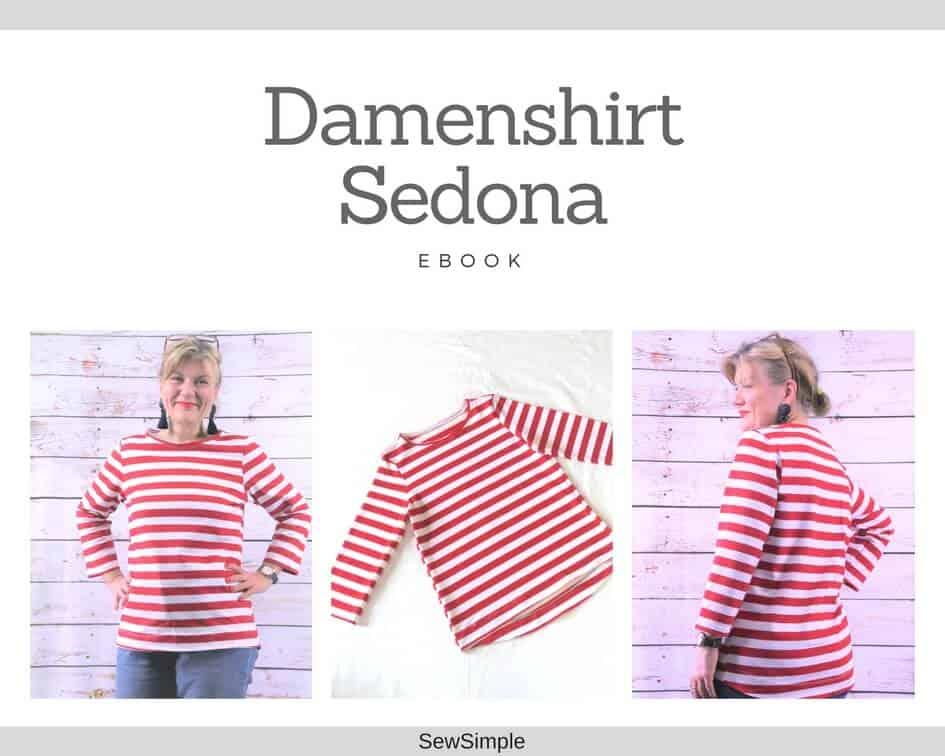 90c89856acb7 ᐅ Damenshirt nähen   Schnittmuster für Anfänger – Größen 34-60