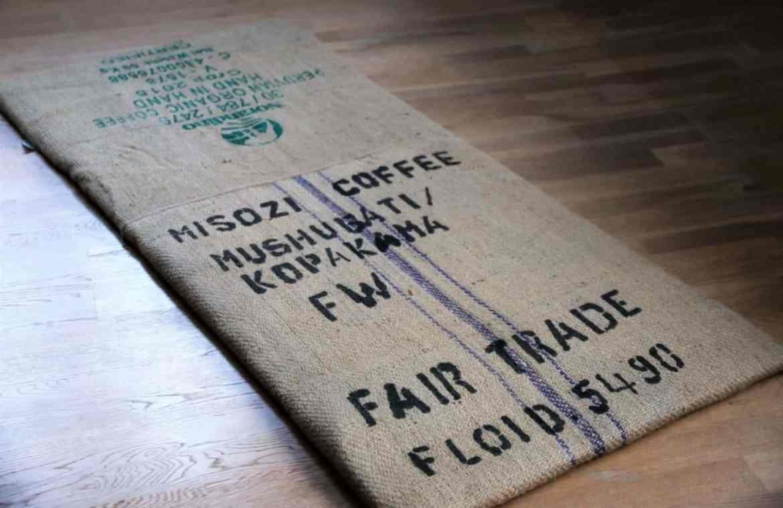 Nähen mit Kaffeesäcken