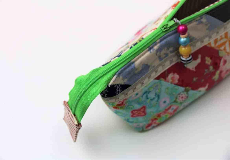 Tasche mit weiter Öffnung nähen