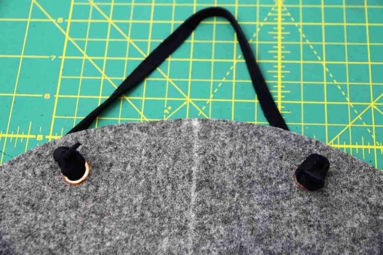 Wandtasche aus Filz nähen