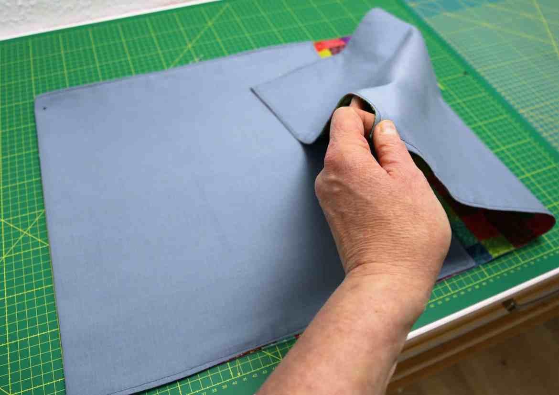 Origami Tasche nähen