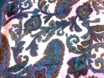 Paisley silky loveliness (Wimbledon Sewing Centre)