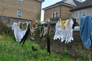 Disco laundry to confuse my neighbours.