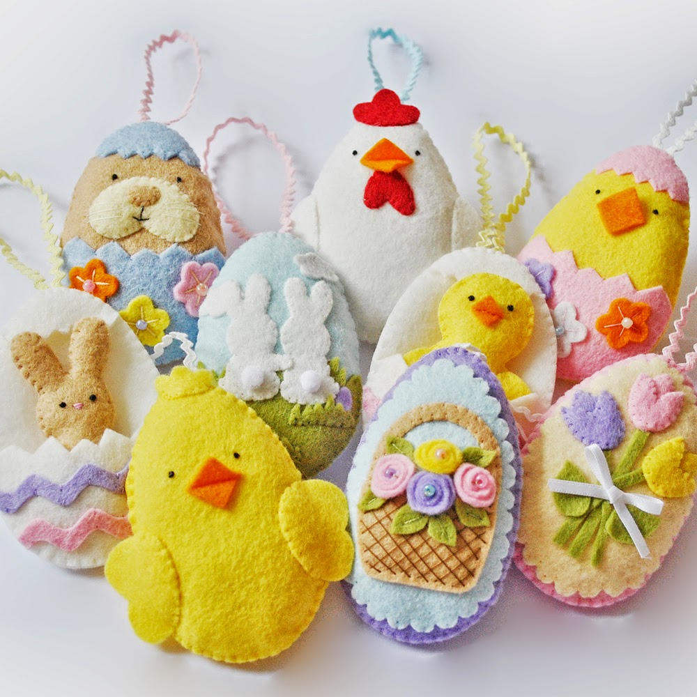 In This PDF You Will Receive Illustrated Instructions And Templates To Make 9 Easter Egg Designs