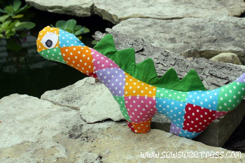 Rawr Dinosaur Plushie Sew Sweetness