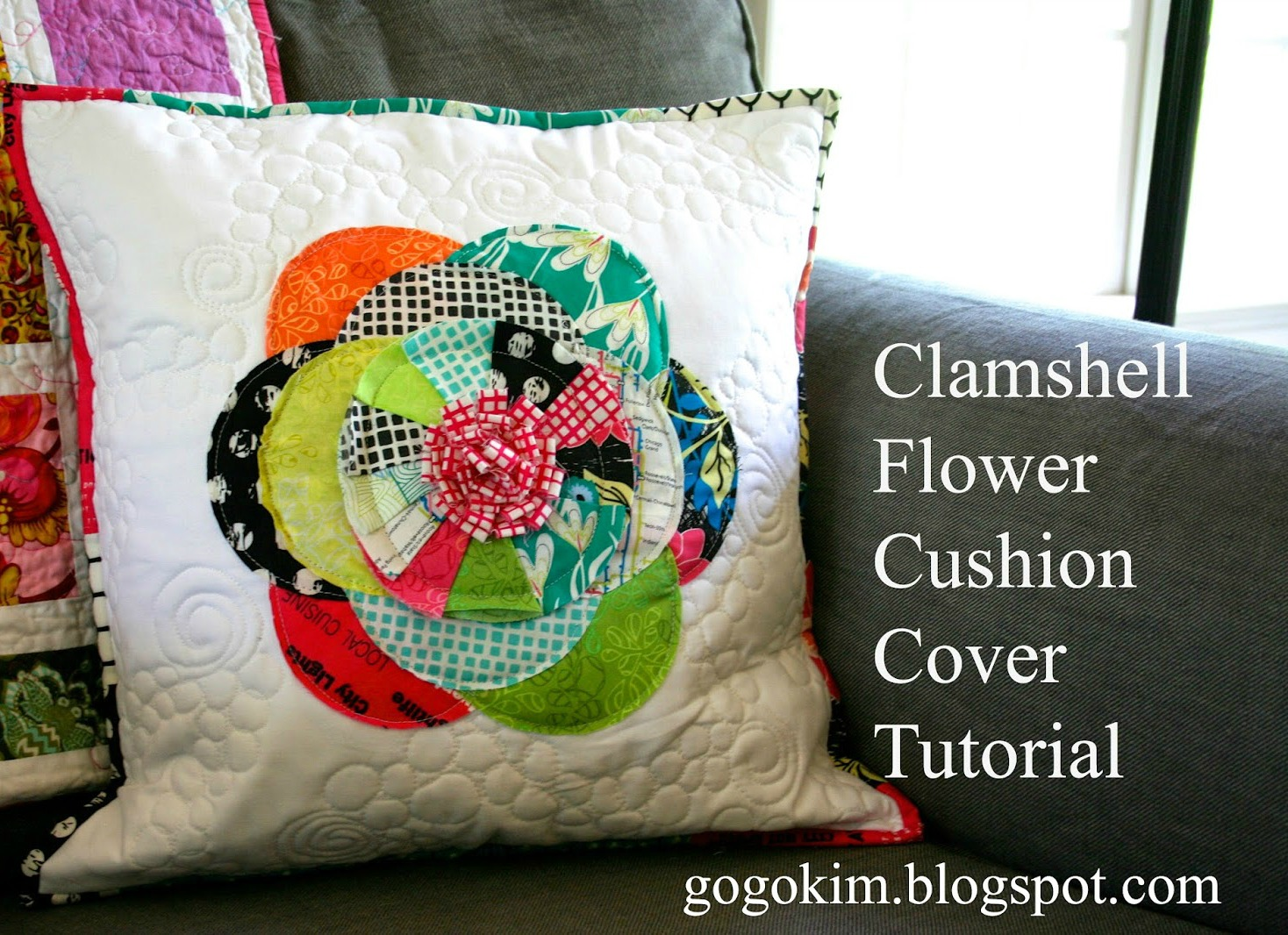 Flower Pillow Tutorial Made In Jungle Ave Fabrics Sew