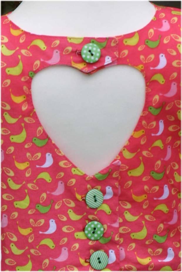 Sommerkleid mit Herzausschnitt
