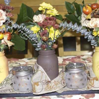 Rustic Thanksgiving Centerpiece